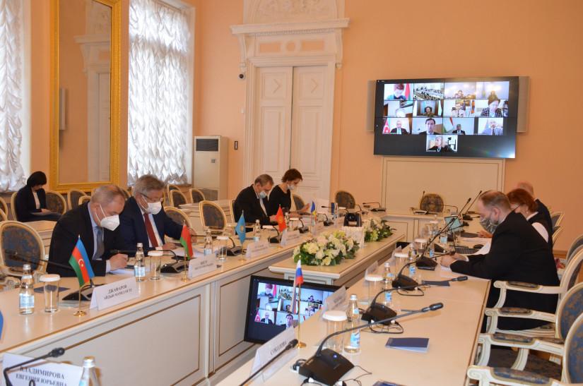 Парламентарии стран СНГ согласовали текст заявления «О мерах законодательного обеспечения трудовой миграции в период пандемии»