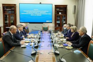 Генеральный секретарь Совета МПА СНГ Дмитрий Кобицкий встретился с главой ЦИК России Эллой Памфиловой
