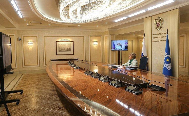 Руководители парламентов обсудили роль законодателей в укреплении мира и доверия между народами