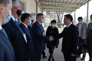 IPA CIS Observers Met with President of Kyrgyz Republic at Polling Station in Bishkek
