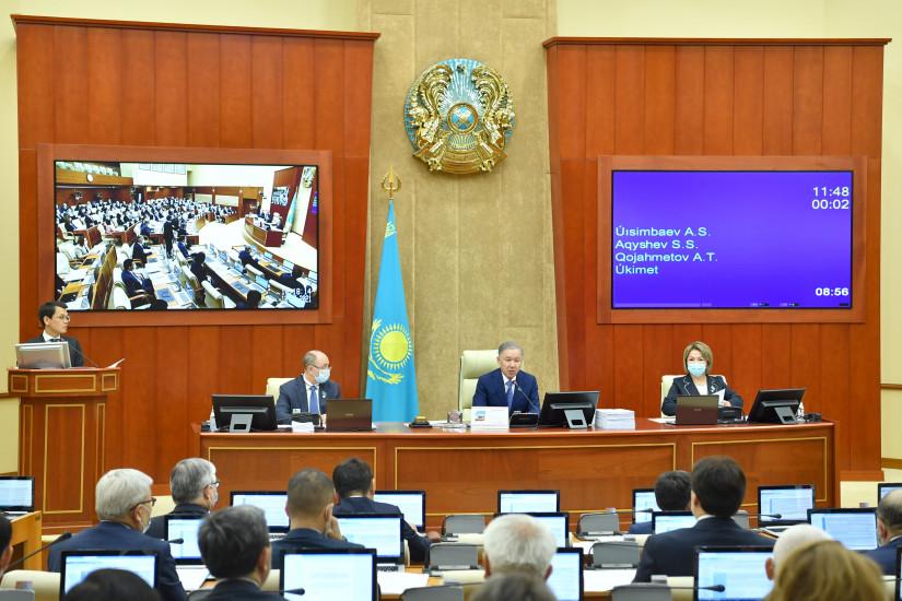 Казахстанские депутаты одобрили ратификационные законопроекты в области космической деятельности