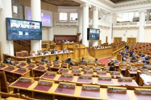 В Таврическом дворце начала работу международная конференция по вопросам наблюдения за выборами