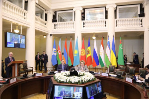 Heads of Parliamentary Delegations Took Stock of IPA CIS Spring Session
