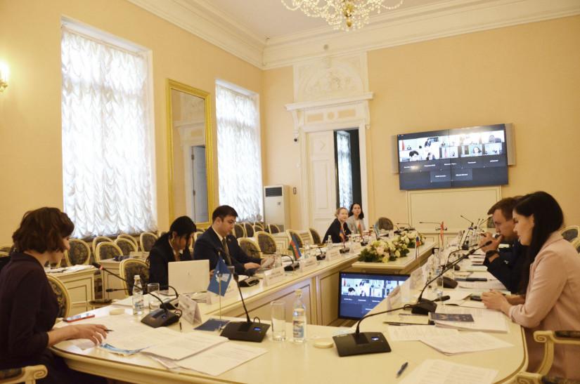 В Таврическом дворце состоялось шестнадцатое заседание Молодежной межпарламентской ассамблеи СНГ