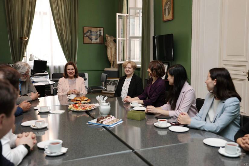 Молодые парламентарии посетили Санкт-Петербургскую художественно-промышленную академию имени А. Л. Штиглица