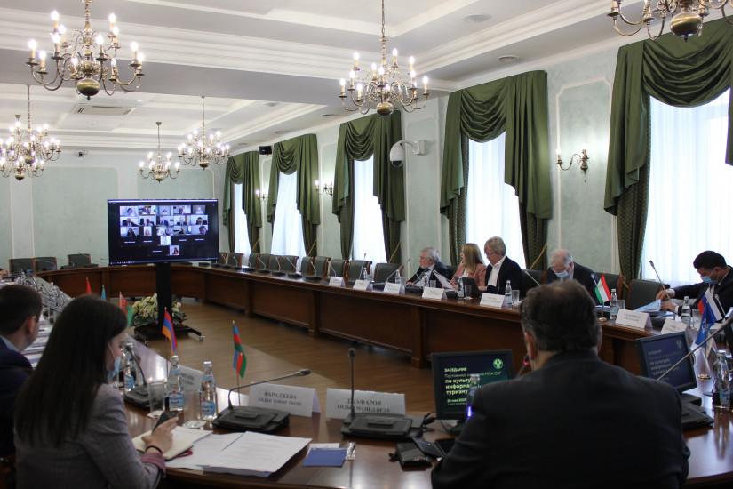 Профильная комиссия МПА СНГ рассмотрела ряд модельных законопроектов в сфере культуры, информации, туризма и спорта