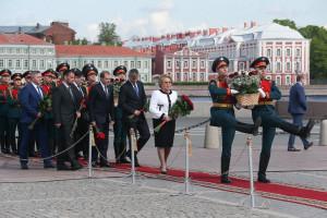 Председатель Совета МПА СНГ Валентина Матвиенко приняла участие в мероприятиях в честь Дня рождения Санкт-Петербурга