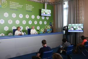 Валентина Матвиенко и Виктория Абрамченко подвели итоги IX Невского международного экологического конгресса