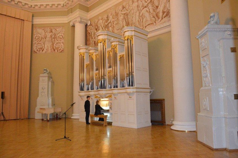 В Таврическом дворце возобновляются органные концерты