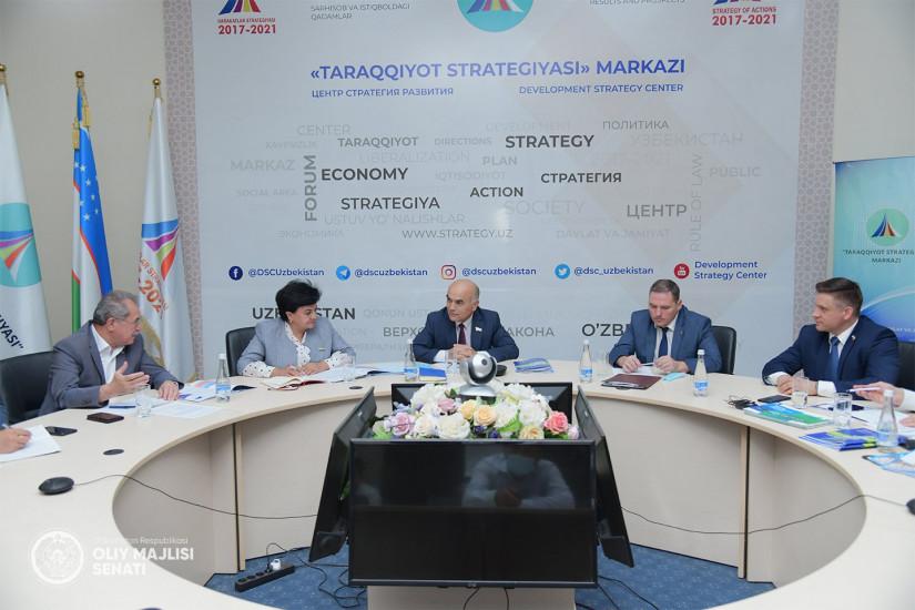 Сенаторы России и Узбекистана обсудили исполнение принятых МПА СНГ документов