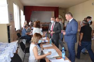 Наблюдатели от МПА СНГ присутствовали при открытии участков на досрочных парламентских выборах в Республике Армения