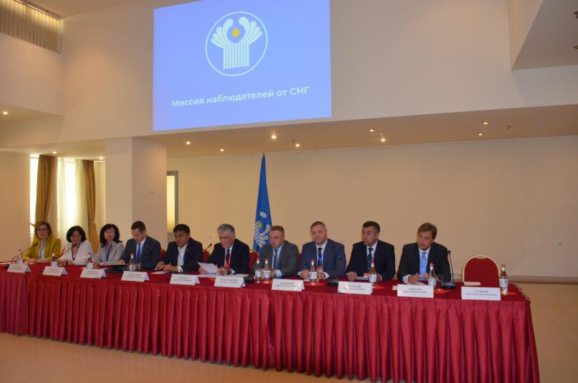 Миссия наблюдателей от СНГ подвела итоги мониторинга досрочных парламентских выборов в Республике Армения