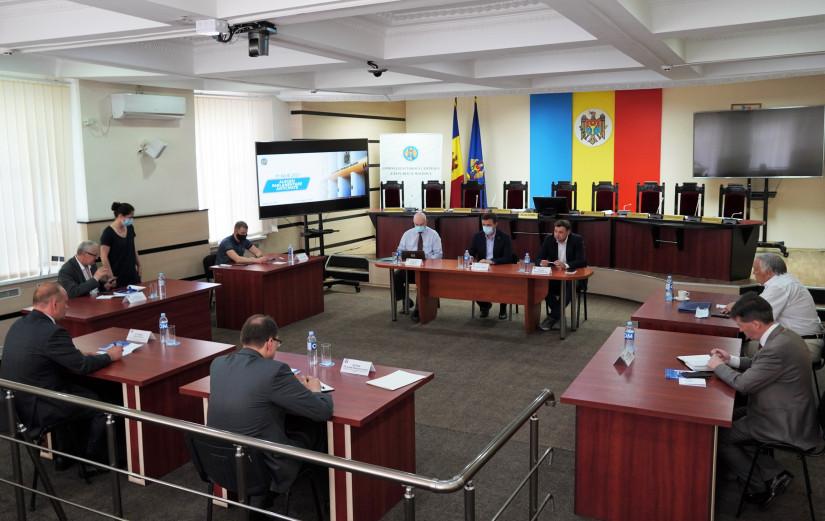 Миссия наблюдателей СНГ встретилась с руководством Центральной избирательной комиссии Республики Молдова