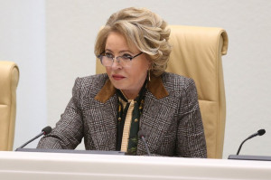 Valentina Matvienko: Within the Framework of Inter-Parliamentary Cooperation We Stand Against Selfish Politization of Environmental Topic