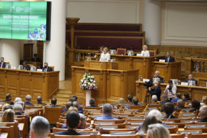 Plenary Session of Nevsky Congress Discussed of Global and Regional Environmental Challenges and Ways of Their Tackling