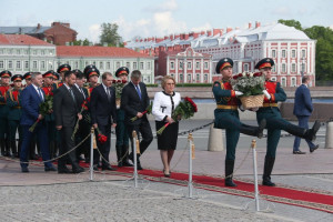 Chairperson of IPA CIS Council Valentina Matvienko Took Part in Events Commemorating St. Petersburg Anniversary