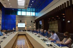 Зинаида Гречаный встретилась с Главой Миссии СНГ и группой наблюдателей от МПА СНГ