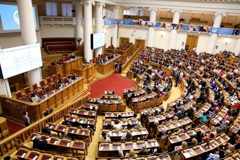 Опубликована архитектура деловой программы третьего Евразийского женского форума-2021