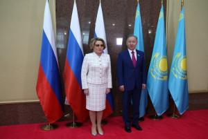 Valentina Matvienko and Nurlan Nigmatulin Discussed Development of Inter-Parliamentary Cooperation within IPA CIS