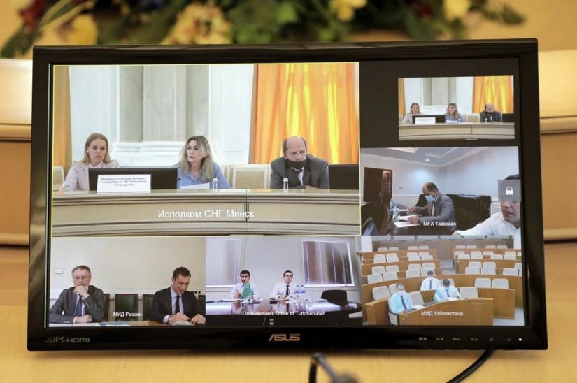 Продолжается работа по созданию Комиссии по правам человека СНГ
