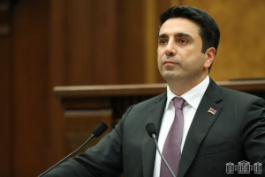 Председателем Национального Собрания Республики Армения избран Ален Симонян