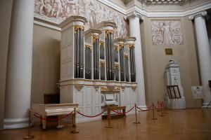Музыкальный альбом с записью органа Таврического дворца станет доступен международной аудитории