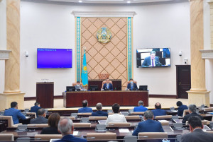 Казахстанские сенаторы наметили основные направления работы на период очередной сессии