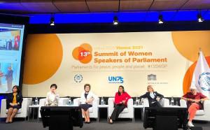 Представительницы СНГ выступили на 13-м Саммите женщин — председателей парламентов