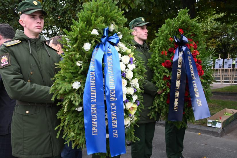 Секретариат Совета МПА СНГ почтил память жертв блокады Ленинграда