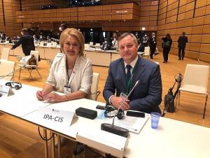 Лилия Гумерова на конференции в Вене: Модельные законы МПА СНГ служат ориентиром для законодателей