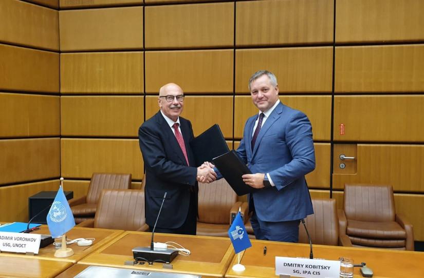 МПА СНГ и Контртеррористическое управление ООН подписали соглашение об укреплении сотрудничества в сфере противодействия терроризму