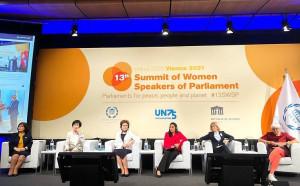 CIS Representatives Participate in 13th Summit of Women Speakers of Parliament