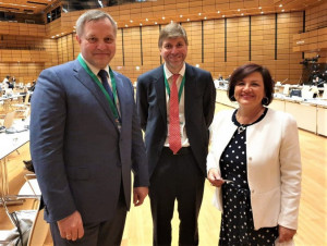 IPA CIS Council Secretary General Held a Number of Meetings on the Margins of World Conference of Speakers of Parliament in Vienna