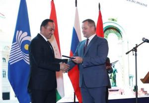 В Таврическом дворце прошло торжественное мероприятие по случаю 30-летия Государственной независимости Таджикистана