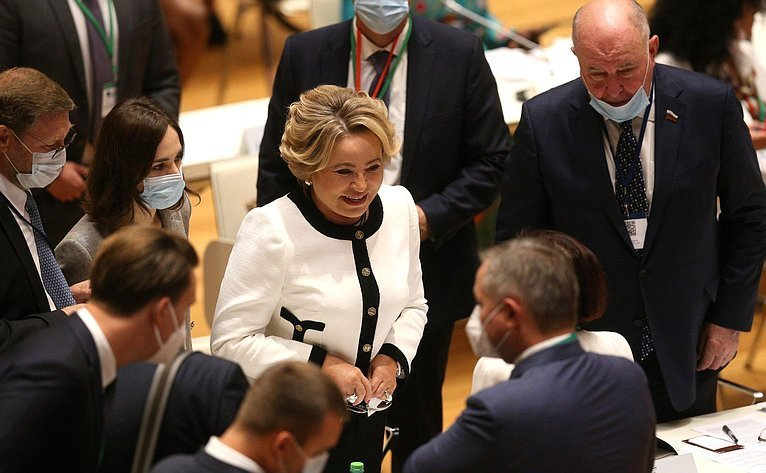 Valentina Matvienko: In Today's Turbulent World Parliamentary Cooperation Is Especially in Demand