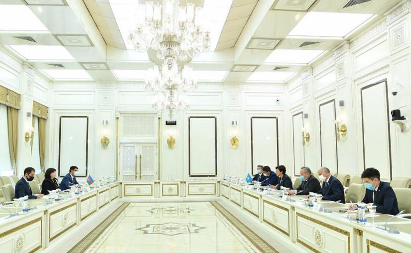 Сагиба Гафарова встретилась с делегацией Парламента Республики Казахстан