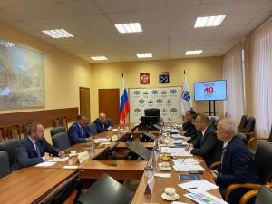 Наблюдатели от МПА СНГ провели встречу с руководством избирательной комиссии Ленинградской области