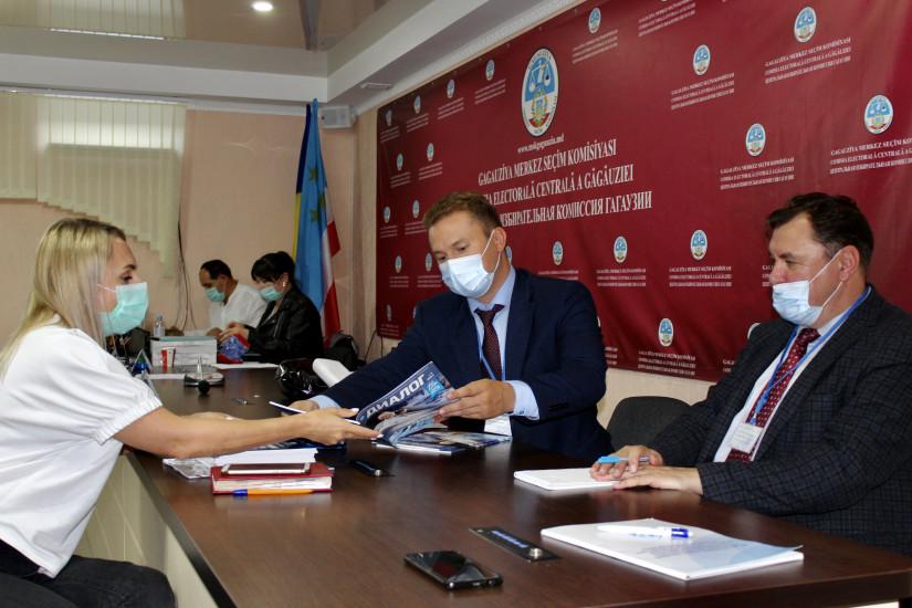 Наблюдатели от МПА СНГ ведут мониторинг выборов в Народное Собрание Гагаузии