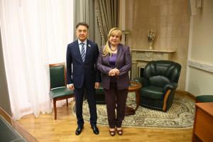 IPA CIS Observers Met With Head of CEC of Russia