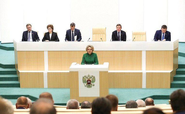 Valentina Matvienko Highlighted Support of Citizens as a Priority of Parliamentary Work
