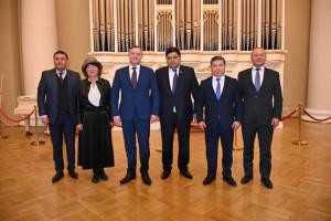 Dmitriy Kobitskiy and Delegation of CEC of Kyrgyz Republic Discussed Preparation for Elections to Jogorku Kenesh