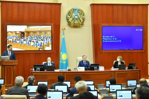 Kazakh MPs Approved Ratification Draft Laws to Protect Ecosystem of Caspian Sea