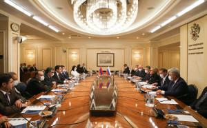 Валентина Матвиенко и Ален Симонян обсудили вопросы межпарламентского сотрудничества