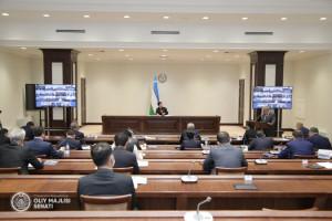 Uzbek Senators Approved Amendments to Legislation in Field of Maintaining Public Order
