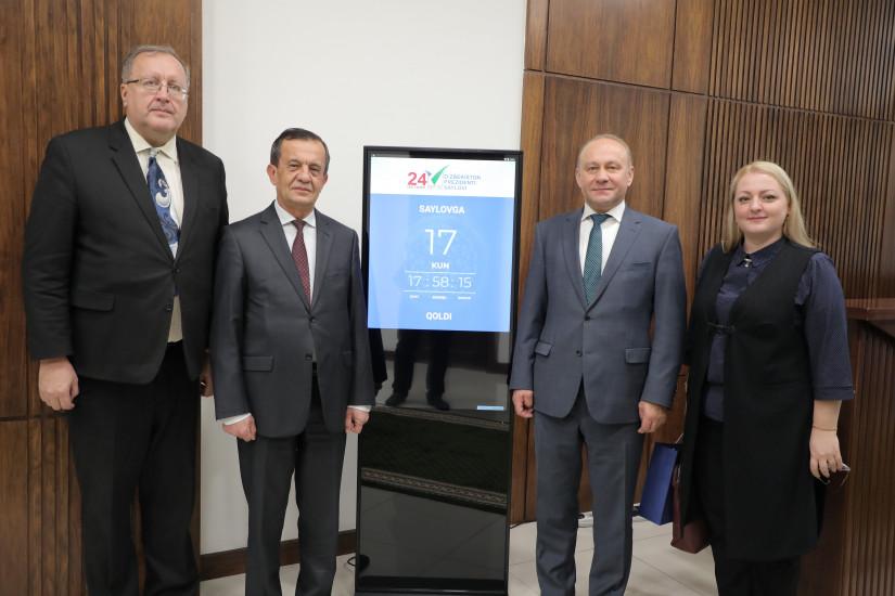 Наблюдатели от МПА СНГ провели встречи с руководством ЦИК и МИД Республики Узбекистан