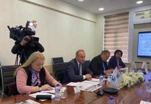 Наблюдатели от МПА СНГ обсудили ход подготовки к выборам с представителями политических партий Узбекистана