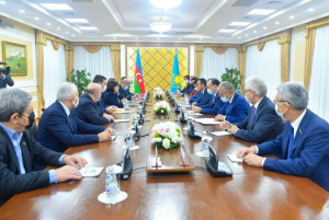 Speakers of Azerbaijan and Kazakhstan Attach Great Importance to Cooperation at International Parliamentary Platforms