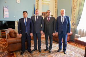 Plenipotentiary Representative of Parliament of Republic of Kazakhstan at IPA CIS Igor Musalimov Started Work