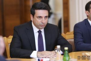 Alen Simonyan to Head Parliamentary Delegation of Republic of Armenia at IPA CIS