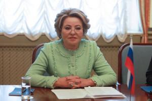 A Number of Bilateral Meetings Held on Margins of Third Eurasian Women's Forum